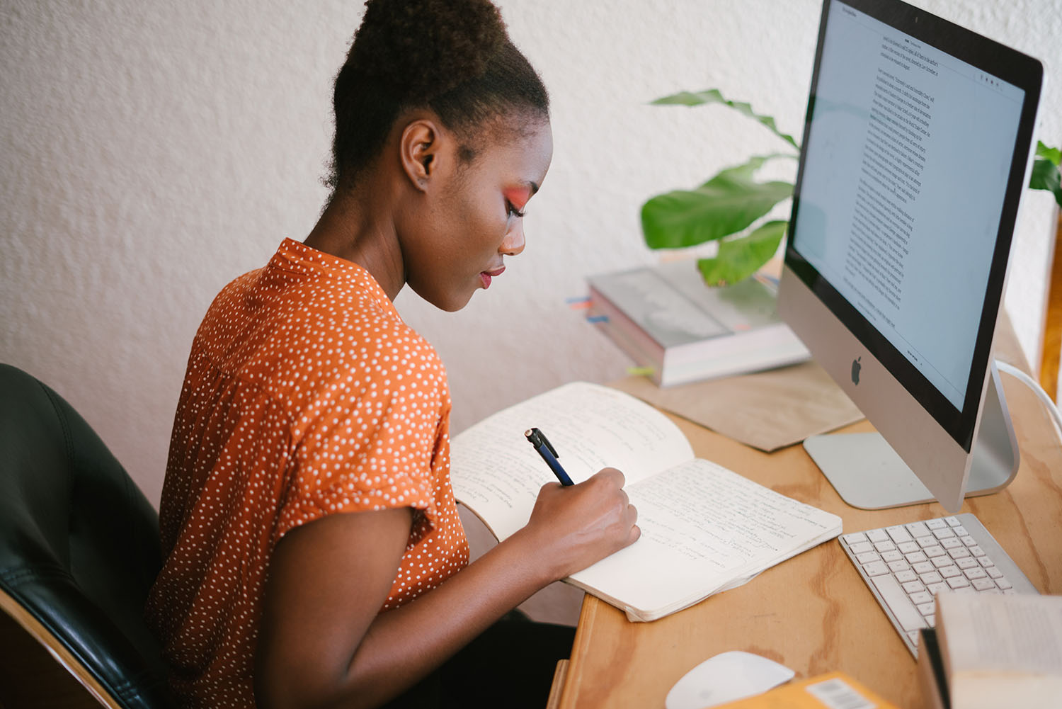 African History Project – Woman Writing copy