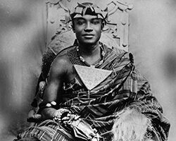 African History Project - Asante King - Prempeh II (square) 2 copy