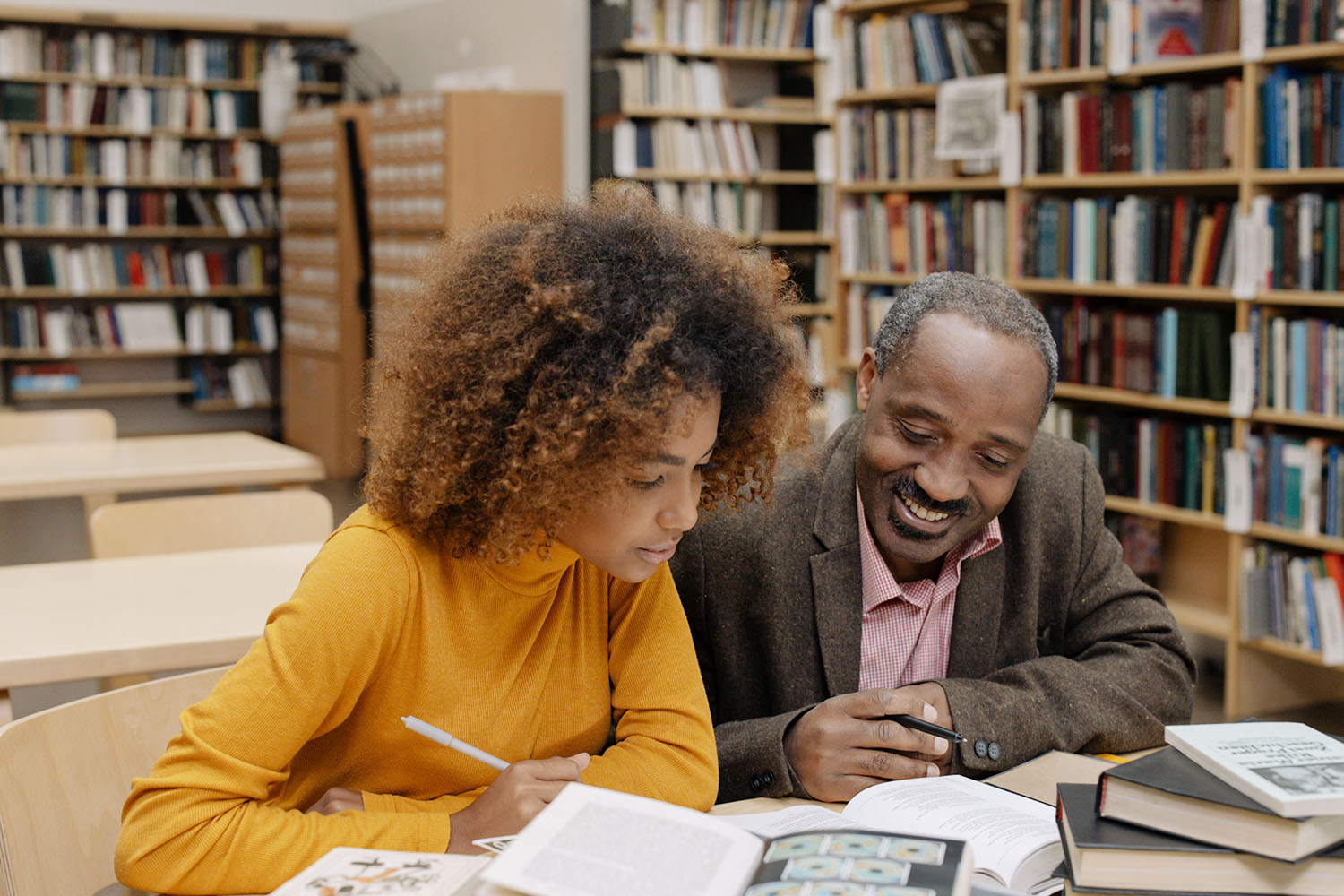 African History Project - Black Man and Black Women Reading Library (1) copy