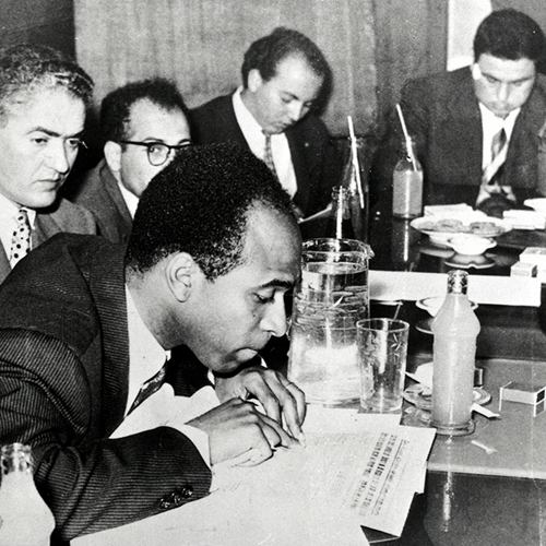 African History Project - Fanon - at work (2) copy