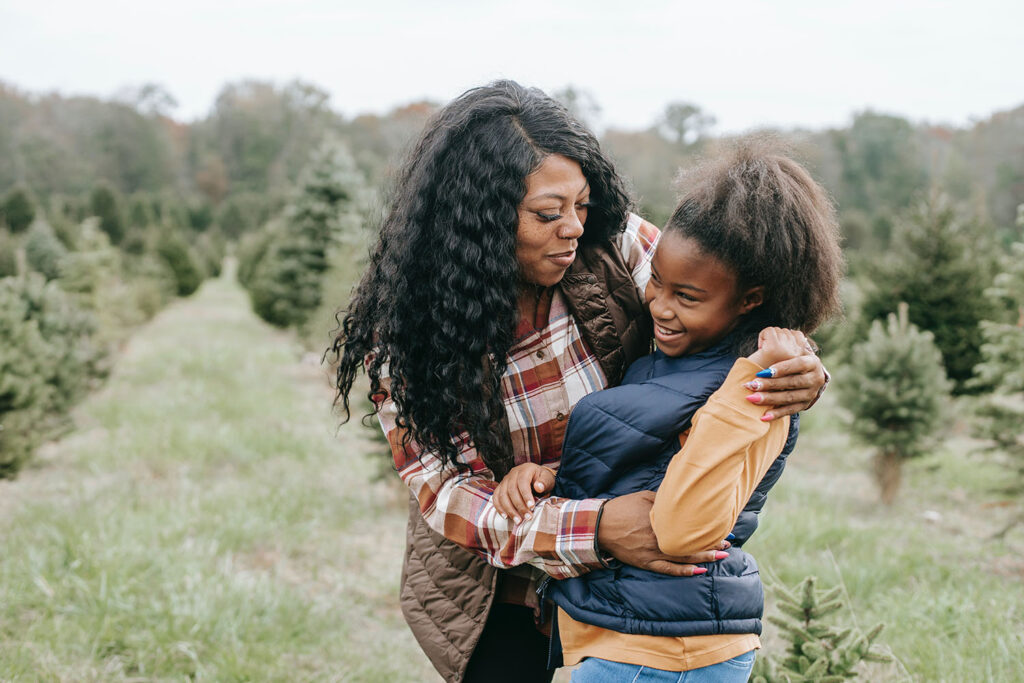 African History Project - Black Mother Woman and Child Daughter 2 copy