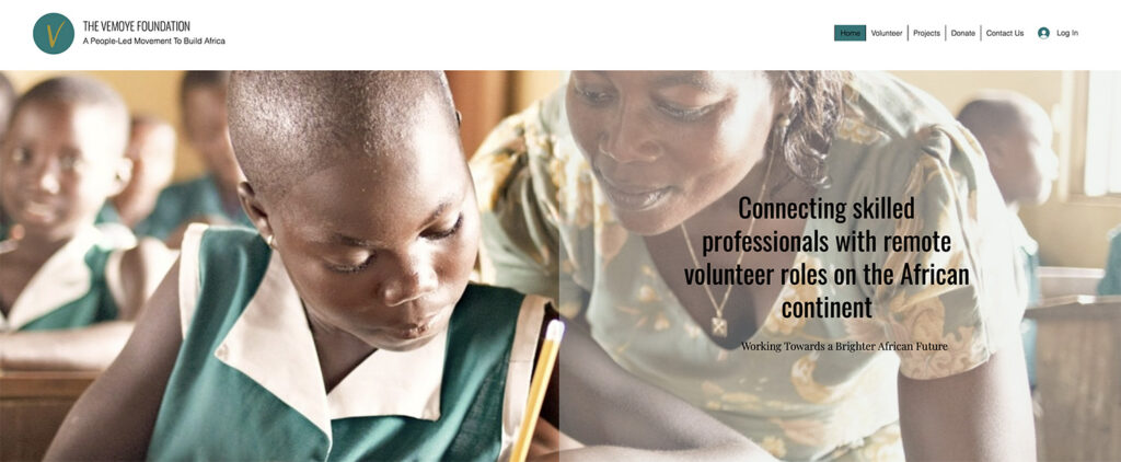 African History Project - Vemoye Foundation